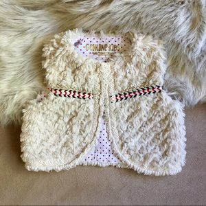 OshKosh Baby Girl Faux Vest